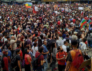 manifestaciones estallido social