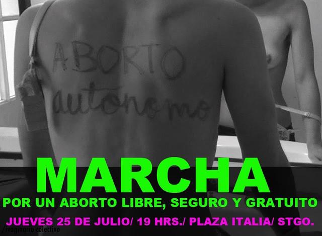 Primera marcha aborto libre