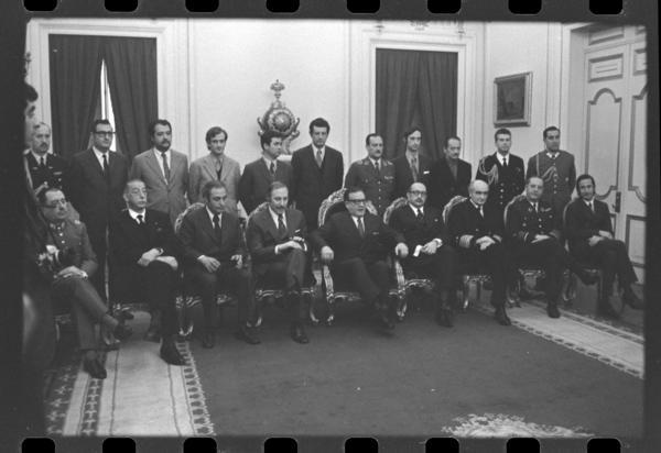 Ultimo gabinete Allende