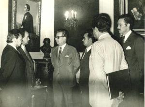 Salvador Allende en La Moneda